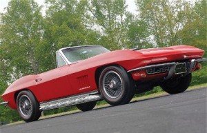 A 1967 Corvette Sting Ray.