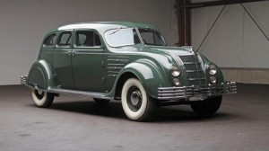 The weekend's top sale was this $213,400 Chrysler Custom Imperial Airflow. PHOTO BY AUCTIONS AMERICA