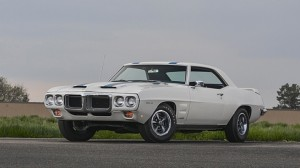 This 1969 Pontiac Firebird Trans Am Ram Air IV sold for $180,000 at Mecum's inaugural Denver sale (photo courtesy of Mecum Auctions)