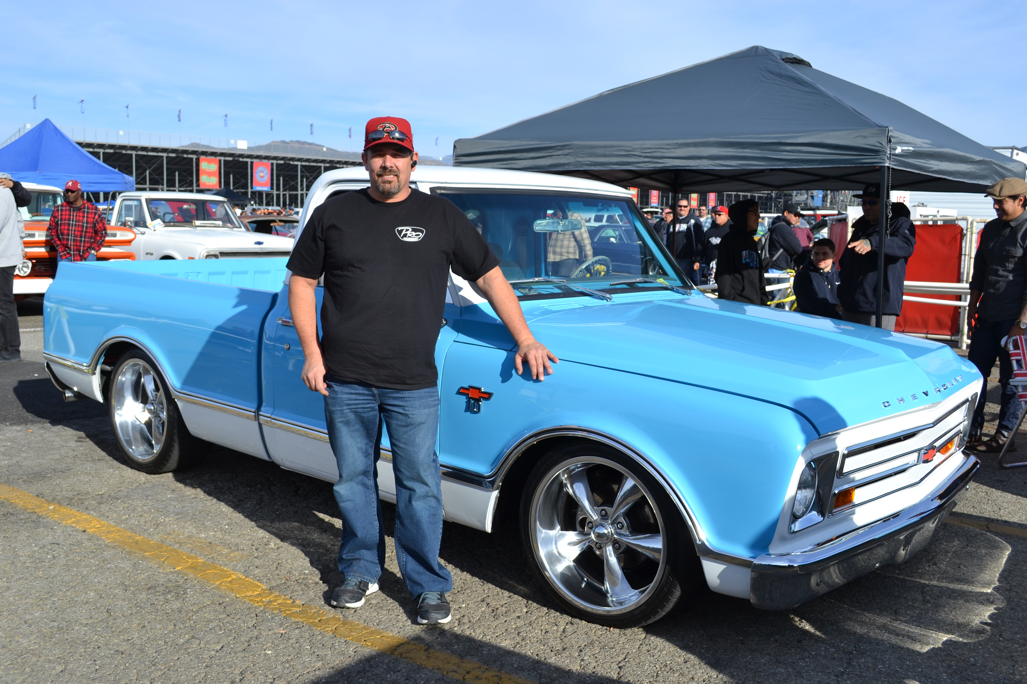 Mark Postula '67 C10 | Pomona Swap Meet