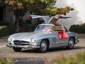 This 1955 Mercedes-Benz 300 SL Gullwing sold for $1,155,000 at RM Sotheby's Arizona auction (photo courtesy of RM Sotheby's)