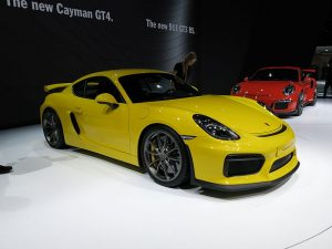 2015 Porsche Cayman GT4 (photo courtesy of Norbert Aepli)
