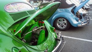 1956 Oval Window VW Bug Engine