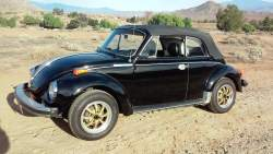 Image of 1979 VW Beetle Karmann Cabriolet Convertible