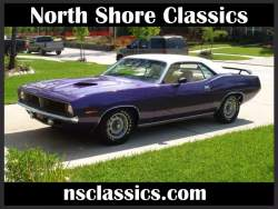 Image of 1970 PLYMOUTH CUDA -PLUM CRAZY PURPLE-ORIGINAL