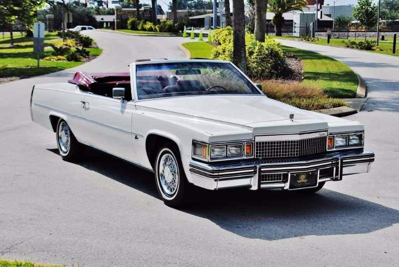 Image of 1979 Cadillac Convertible ~ Paris DeVille