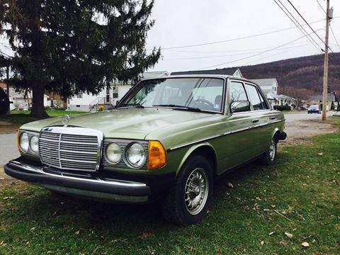 Image of 1984 Mercedes 300D Sedan Turbo Diesel (PA) - $8,00