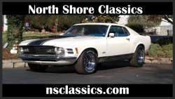 Image of  1970 FORD MUSTANG - MACH 1- 4 SPEED - NEWLY RESTO