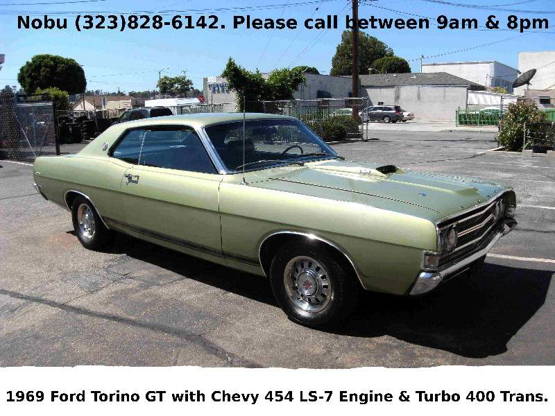 Image of 1969 Ford Torino GT 2-Dr Coupe w/Chevy 454 LS-7