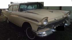 Image of 57 Ford Fairlane for sale