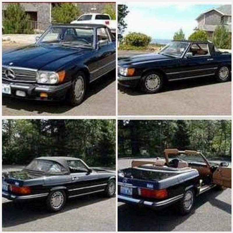 Image of 1988 Mercedes Benz 560SL (WA) - $25,000