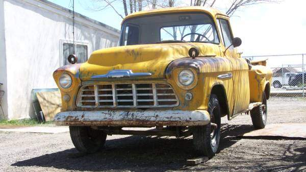 Image of Very Rare 1-Ton Step Side 1956 Pickup Truck