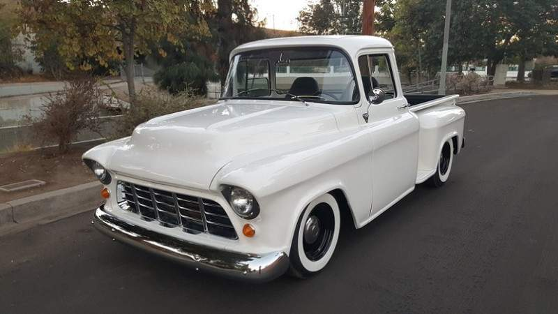Image of 1955 Chevy Truck Big Window
