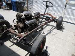 Image of 1929 Ford A Hot Rod chassis motor,trans rearend
