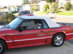Image of 1990 Ford Mustang Conv.