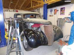 Image of Project Vehicle 1936 Ford Sedan
