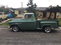 Image of 1955 Chevy pickup