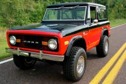 Image of 1972 Ford Bronco Performance 351 Windsor V-8