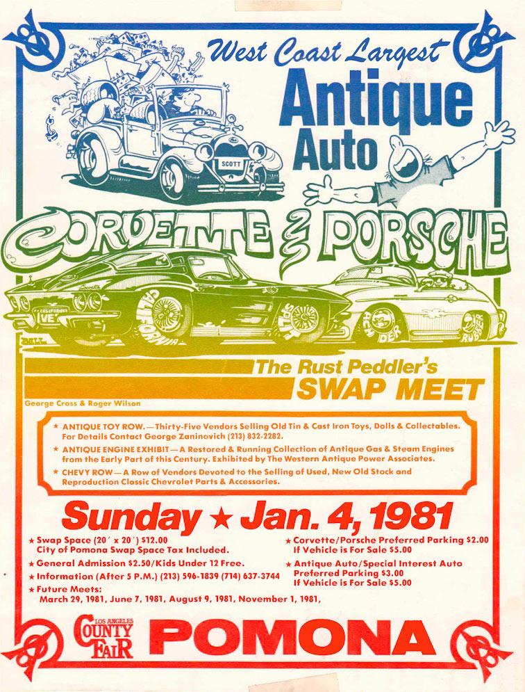 History of California\'s Largest Classic Car Show| Pomona Swap Meet