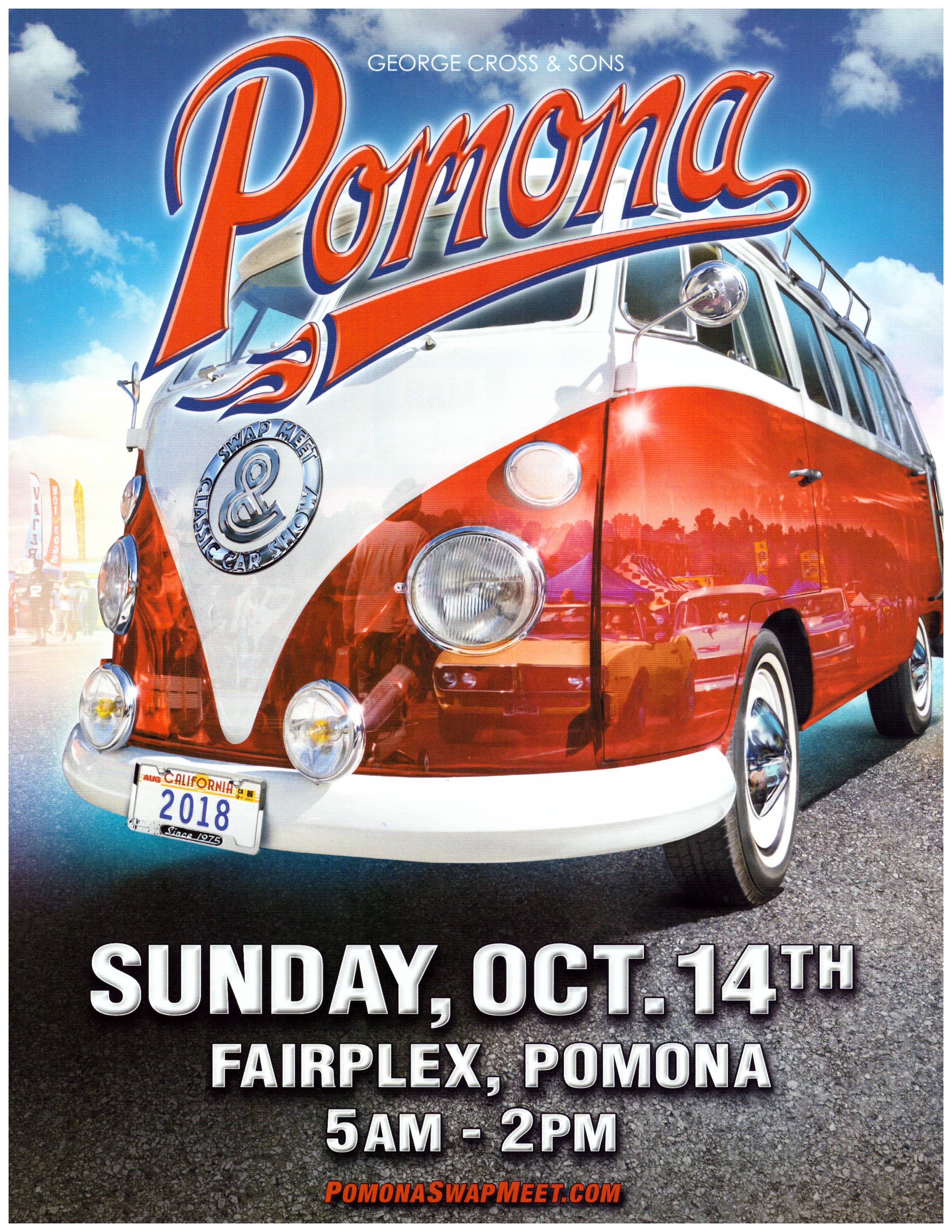History Of California S Largest Classic Car Show Pomona Swap Meet